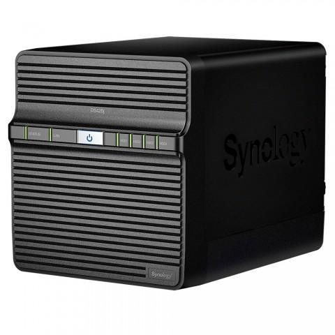 Servidor NAS Synology DiskStation DS420j com 4 baias