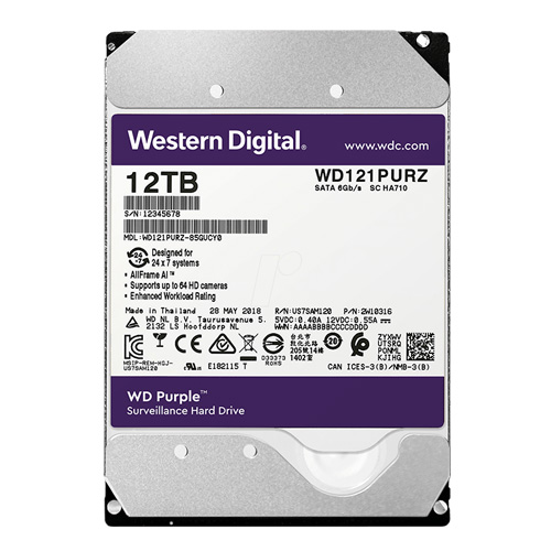 WD Purple 12TB 3.5