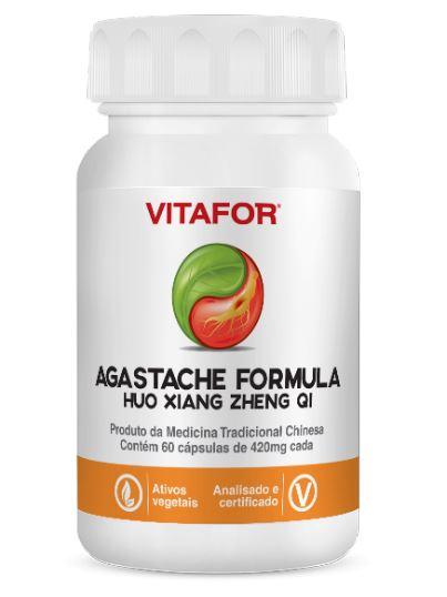 Agasteche Formula Huo Xiang Zheng QI 60 Caps MTC Vitafor