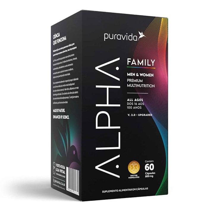 Alpha Family 60 cps 800mg Pura Vida
