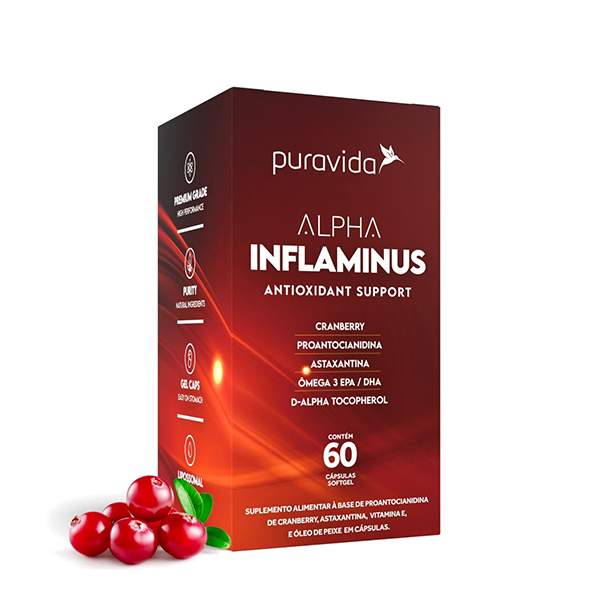 Alpha Inflaminus 60 cps Pura Vida