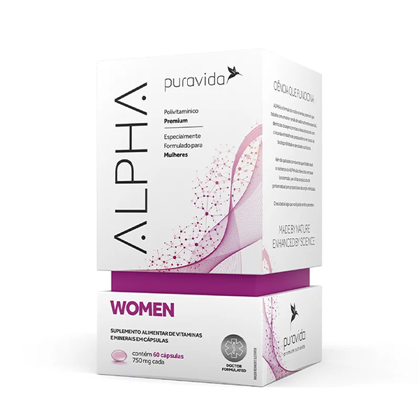 Alpha Women 60caps Pura vida