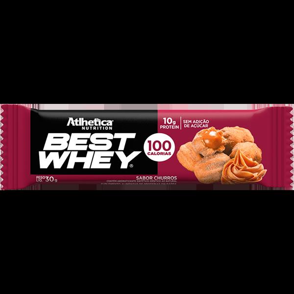 Best Whey Barra de Proteína Churros 30g Atlhetica