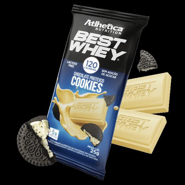 Best Whey Chocolate Proteico Cookies 25g Atlhetica