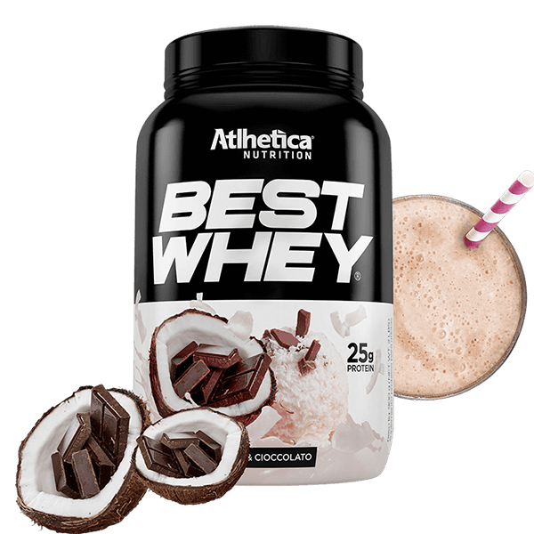 Best Whey Coco e Chocolate Pote 900g Atlhetica