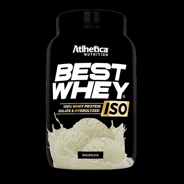 Best Whey ISO Baunilha Pote 900g Atlhetica