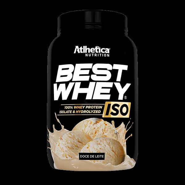 Best Whey ISO Doce de Leite Pote 900g Atlhetica