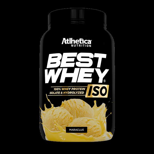 Best Whey ISO Maracujá Pote 900g Atlhetica