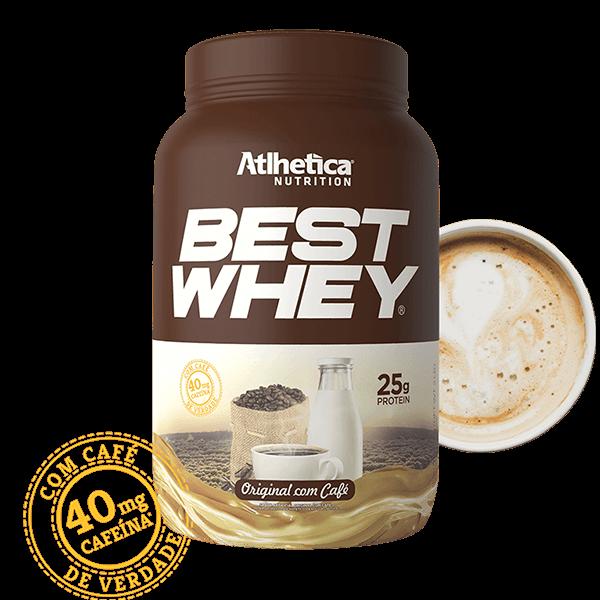 Best Whey Original com Café Pote 900g Atlhetica