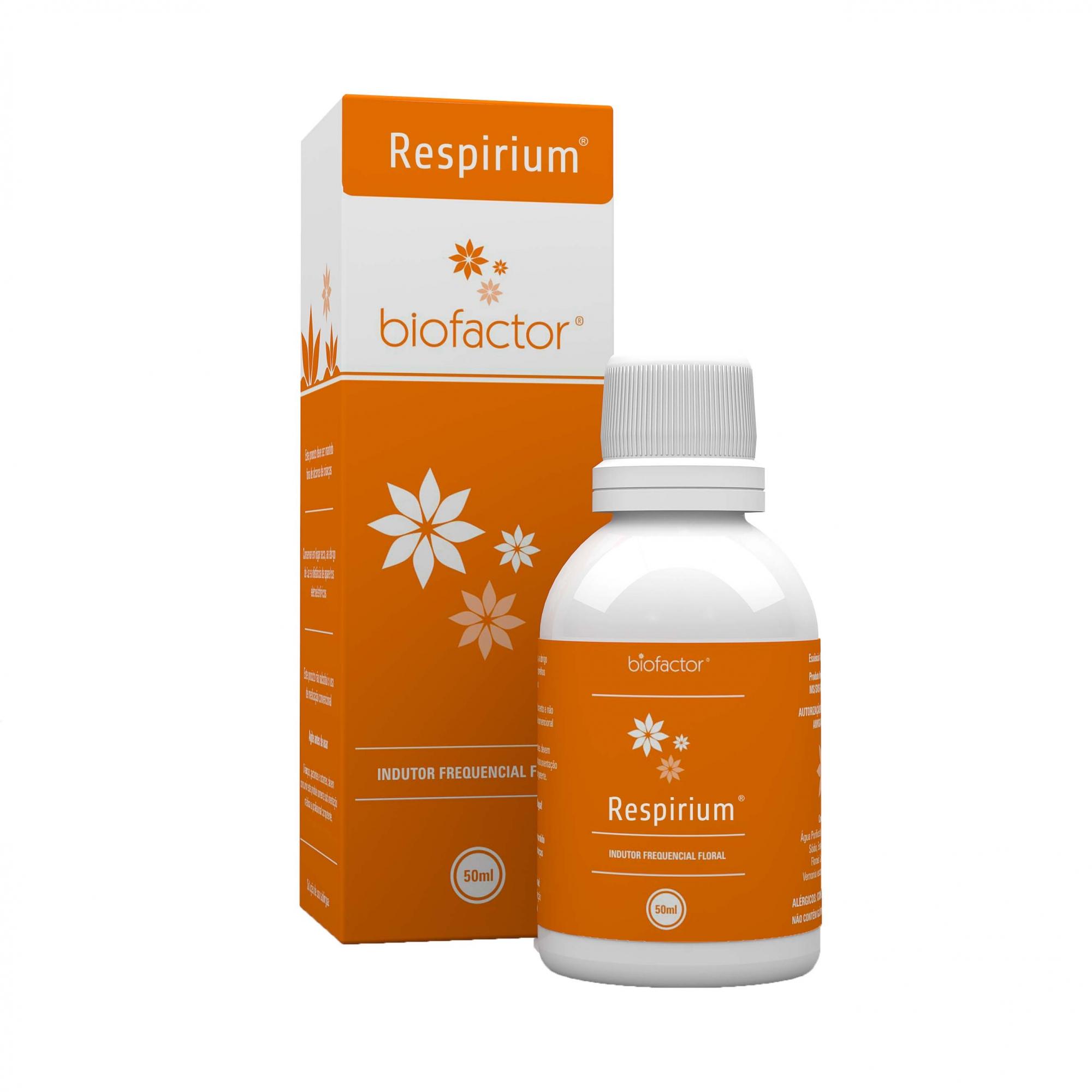 Biofactor Respirium 50ml Fisioquantic
