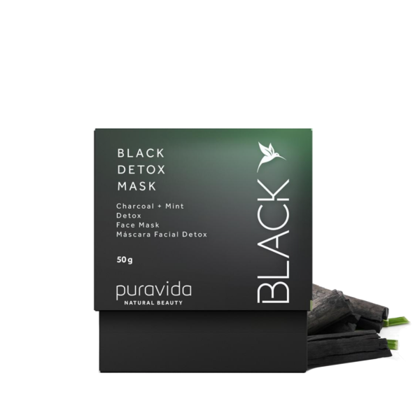 Black Detox Mask 50g Pura vida