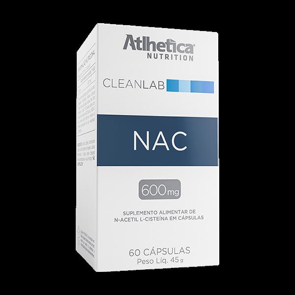 CleanLab Nac ( N- Acetyl-L-Cysteine 600mg) 60caps Atlhetica