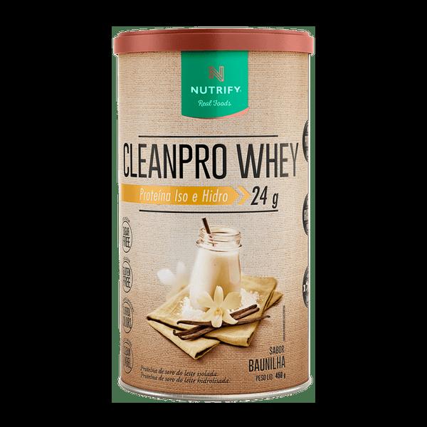 Cleanpro Whey  Baunilha 450G Nutrify