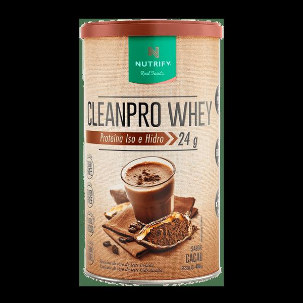 Cleanpro Whey Cacau 450G Nutrify