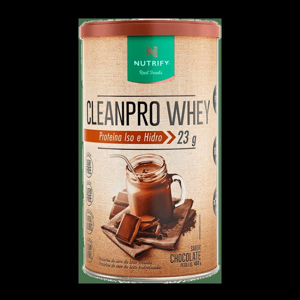 Cleanpro Whey  Chocolate 450g Nutrify