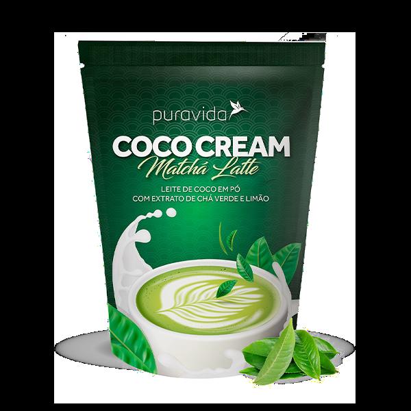 Coco Cream Matcha Latte 250g Pura vida