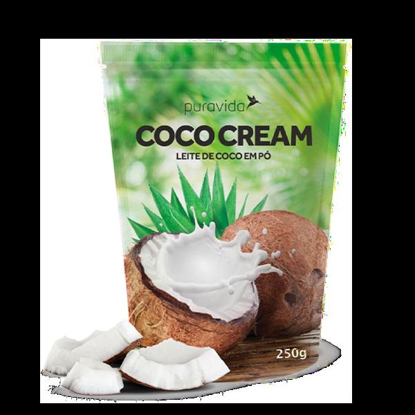 Coco Cream Natural 250G Pura Vida