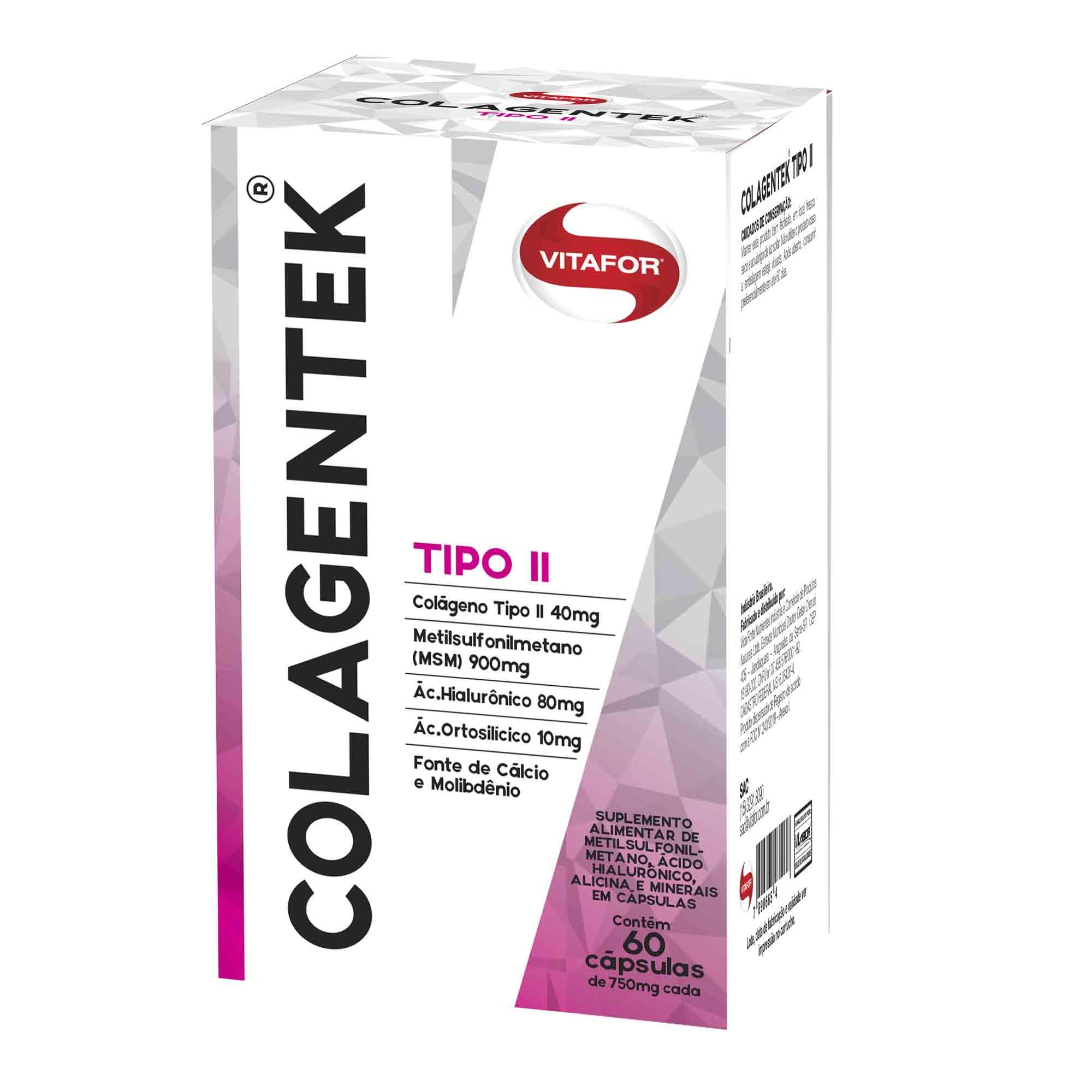 Colagentek Tipo II  Vitafor