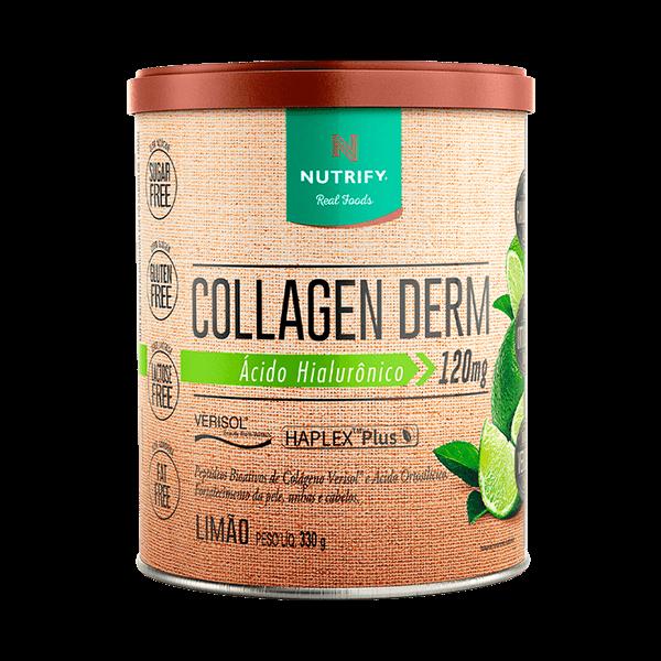Collagen Derm Limão 330G Nutrify