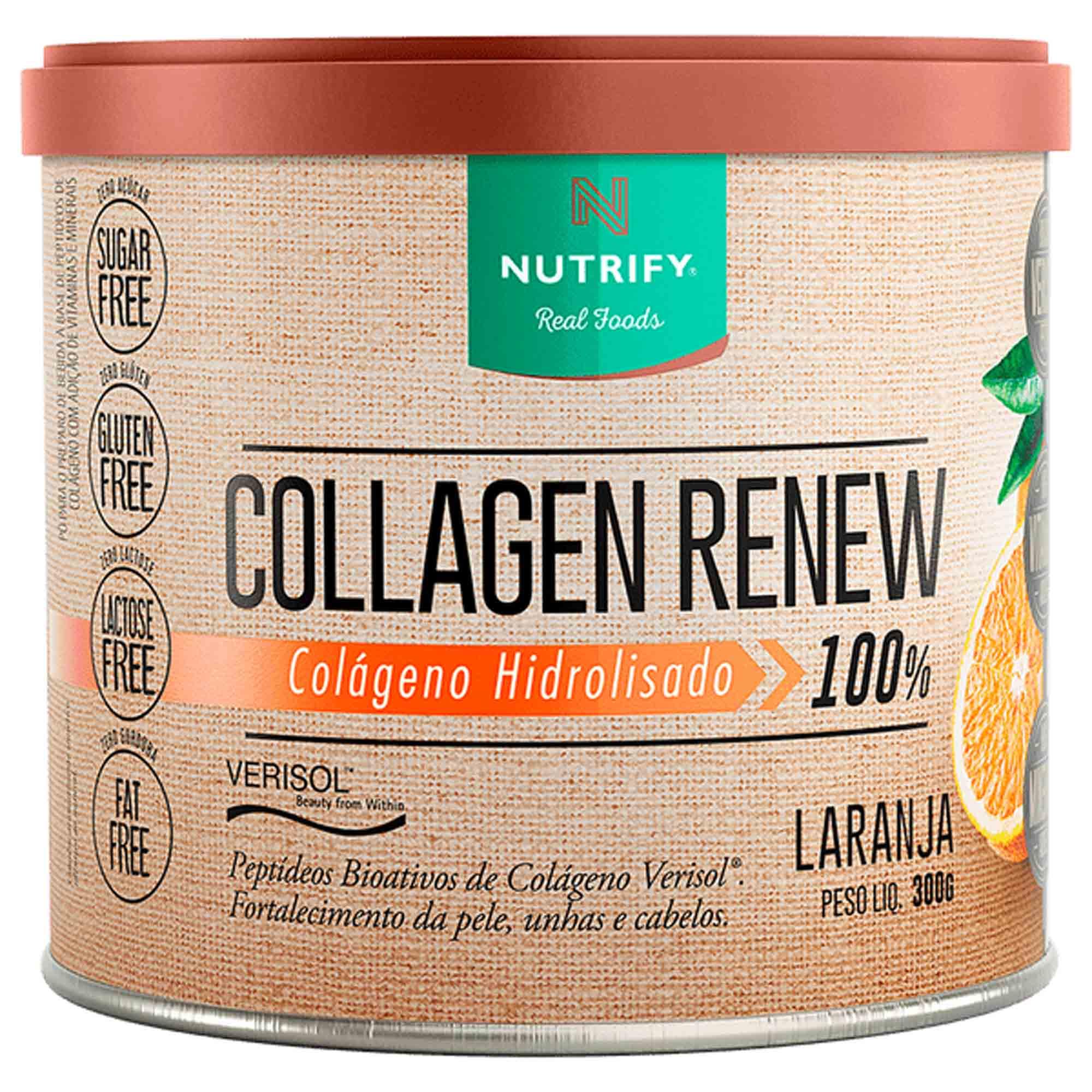 Collagen Renew sabor Laranja 300g Nutrify