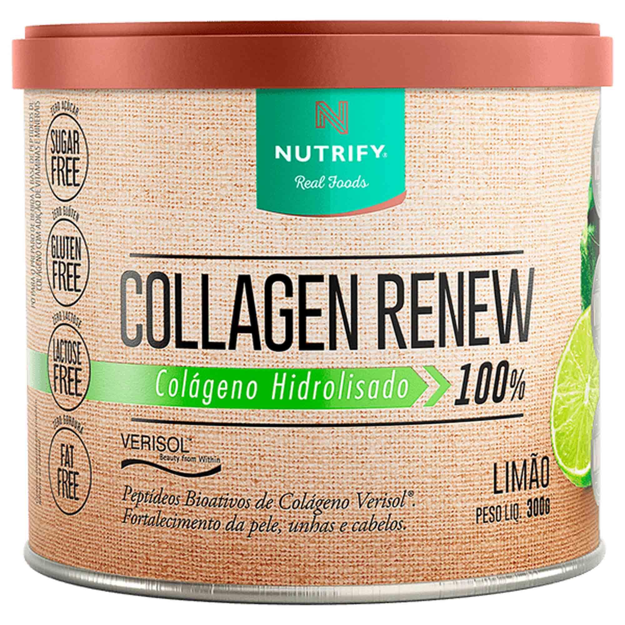 Collagen Renew sabor Limão 300g Nutrify