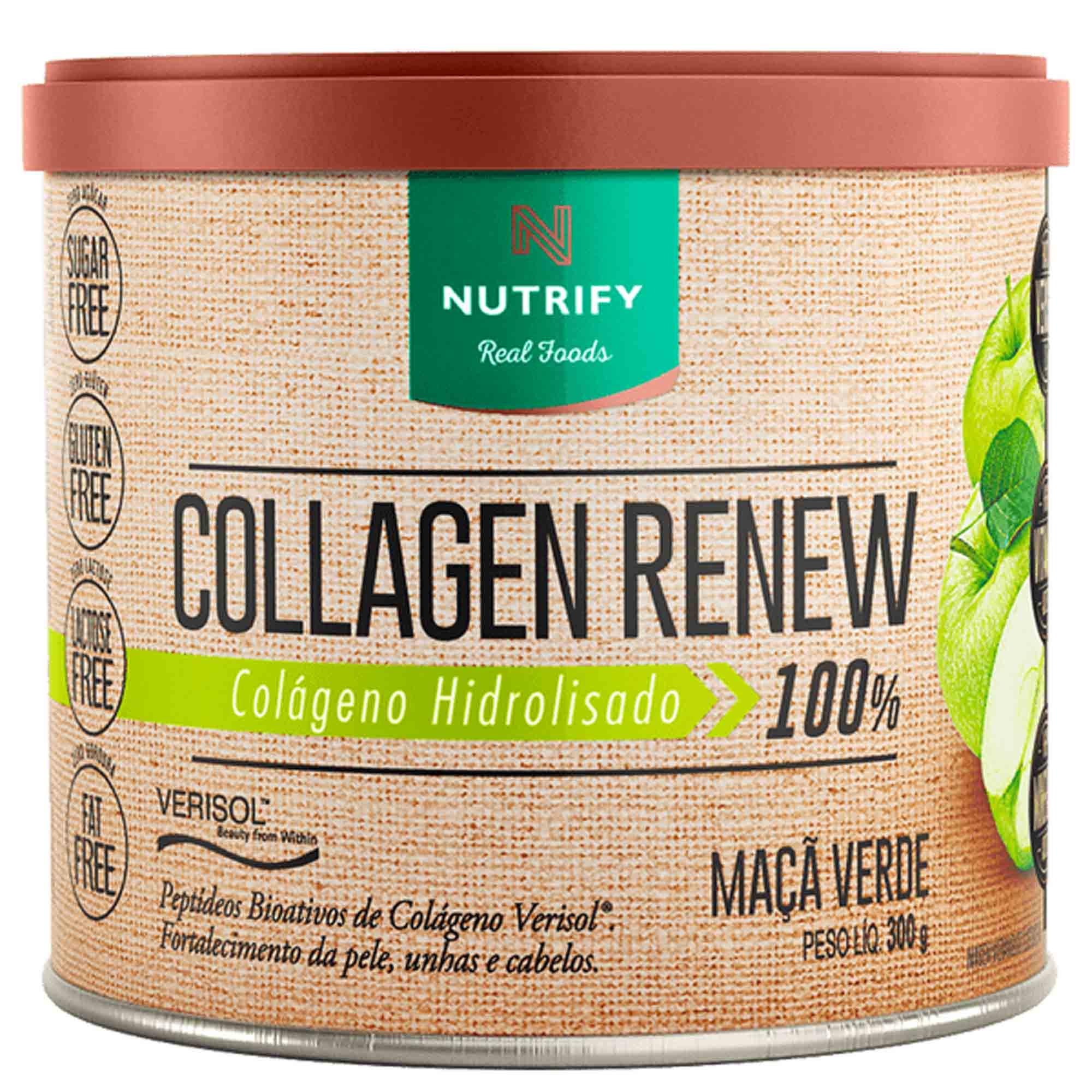 Collagen Renew sabor Maçã Verde 300g Nutrify