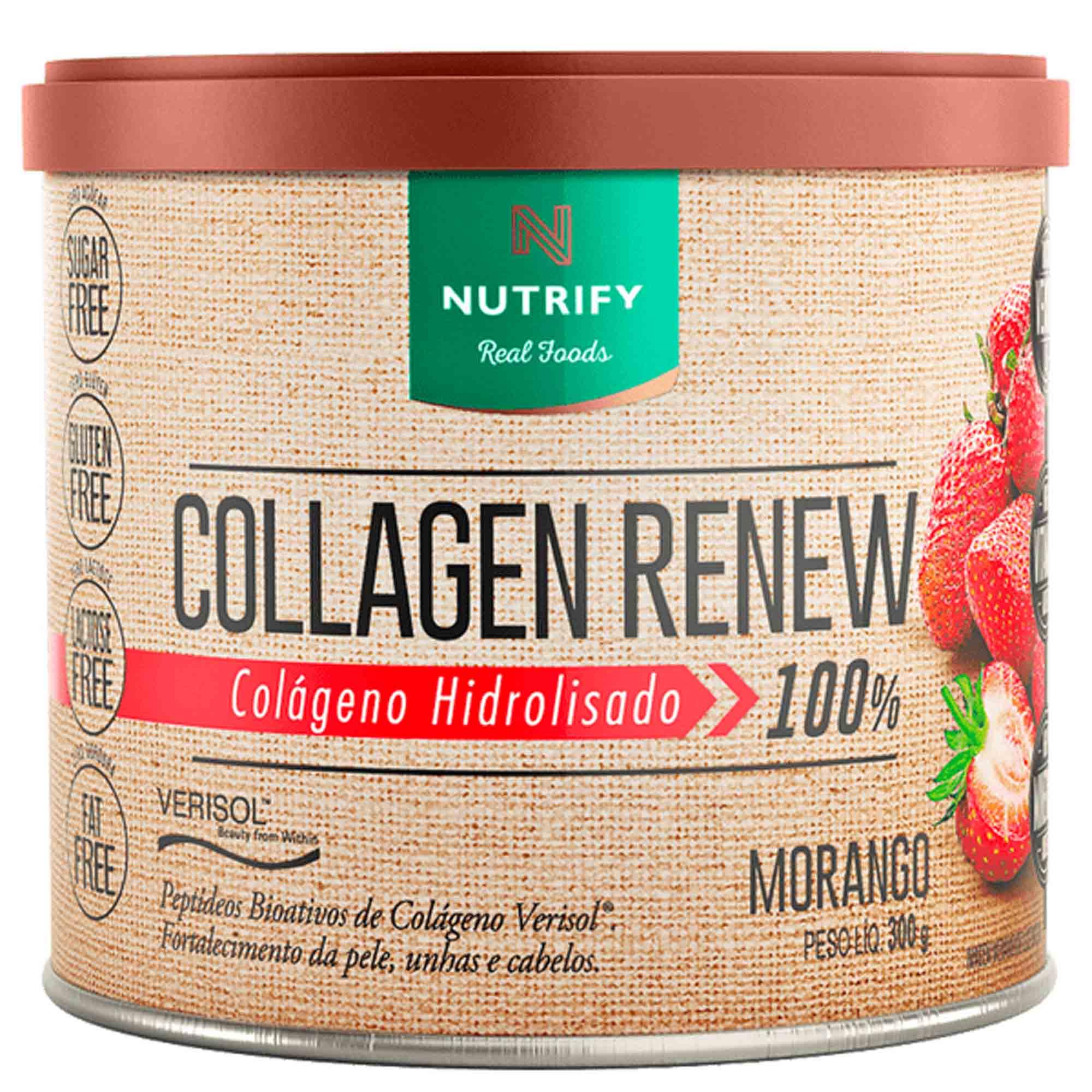 Collagen Renew sabor Morango 300g Nutrify