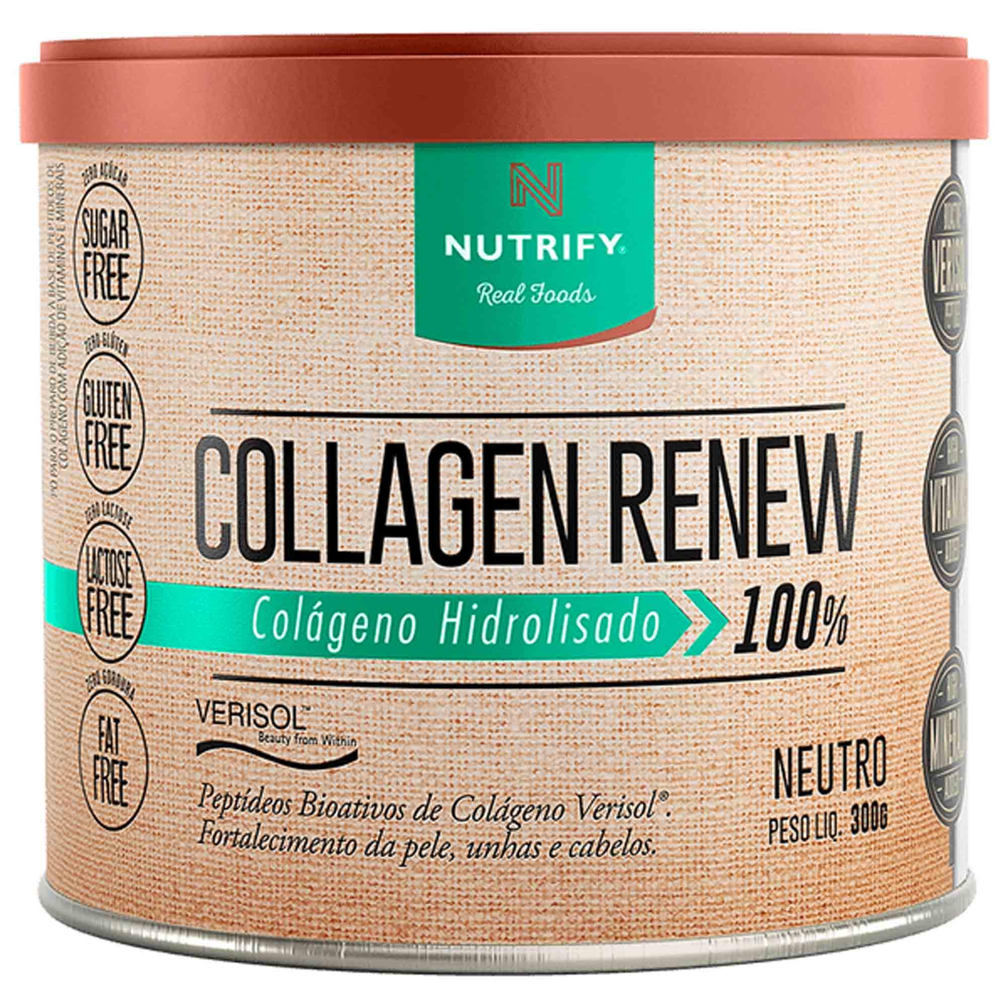 Collagen Renew sabor Neutro 300g Nutrify