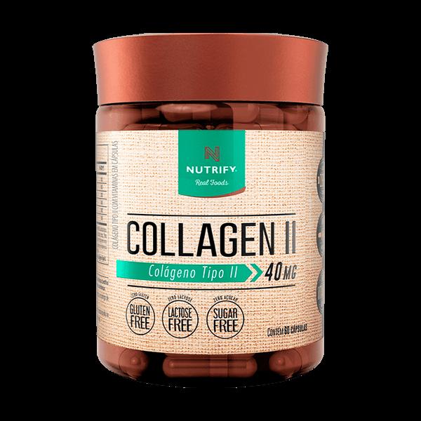 Collagen Tipo II 60caps Nutrify