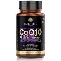 CoQ10 + Omega 3TG + Natural Vitamin E Pote 60 caps Essential