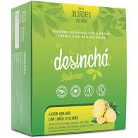 Desinchá sabor Abacaxi com Limão Siciliano 30 envelopes