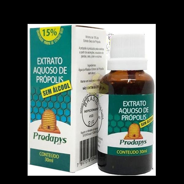 Extrato Aquoso de Própolis sem Álcool 30ml Prodapys