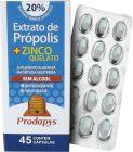 Extrato de Própolis + Zinco Quelato 45caps 50mg Prodapys