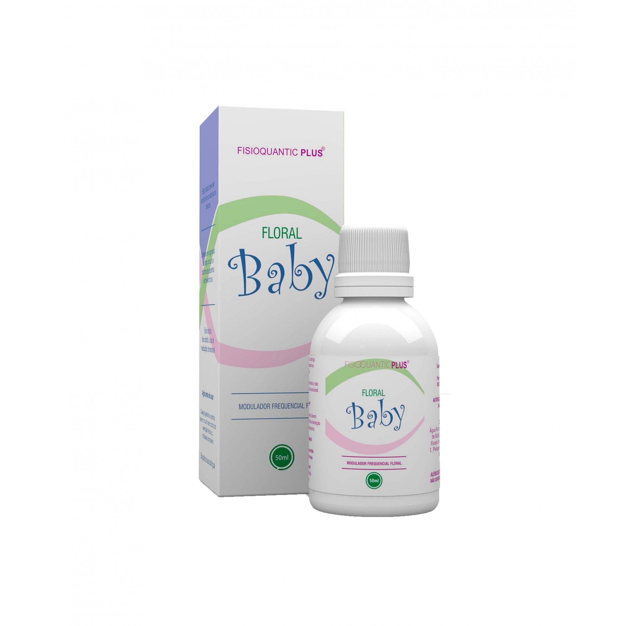 Fisioquantic Plus Floral Baby 50ml Fisioquantic