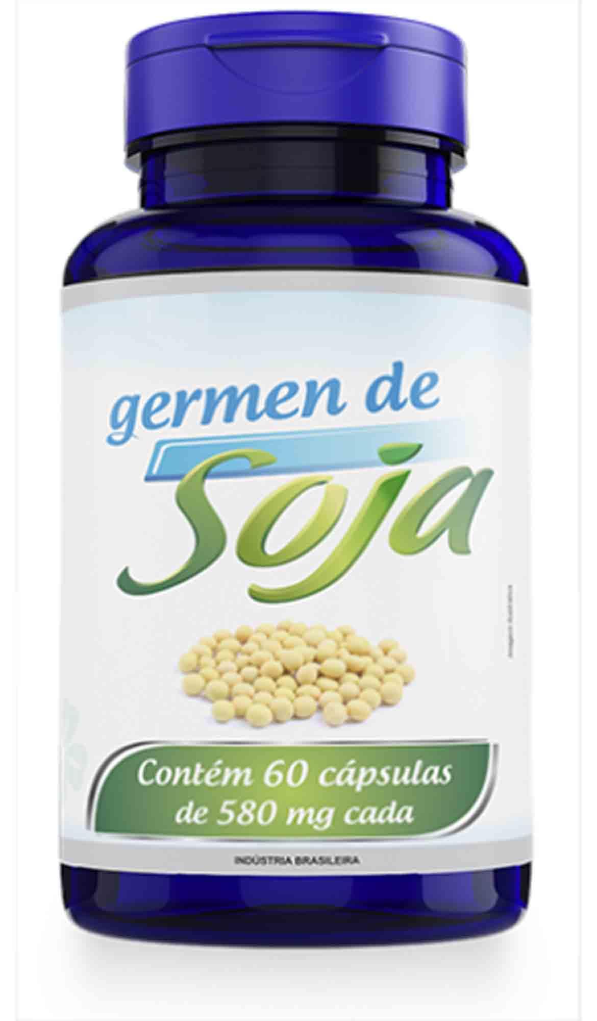 Germen de Soja 60 Caps 580mg Promel