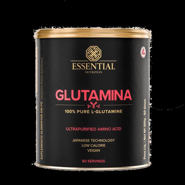 Glutamina Lata 300g Essential