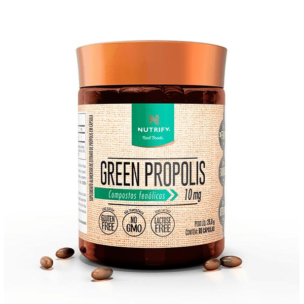 Green Própolis 60 Caps 10 mg Nutrify