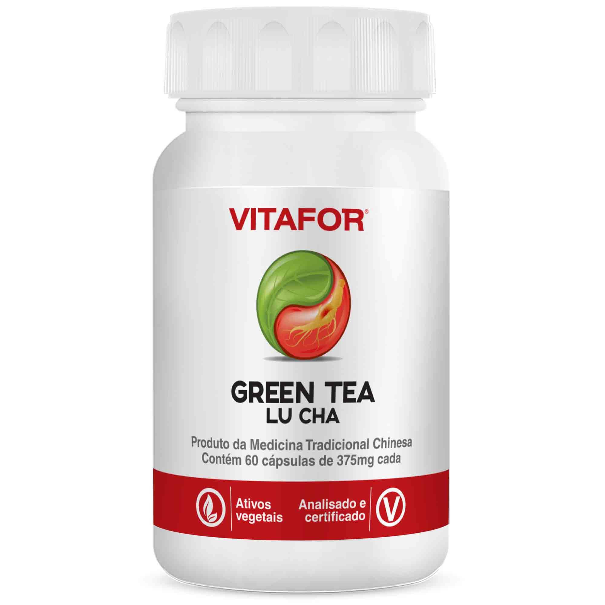 Green Tea Lu Cha 60 Caps MTC Vitafor