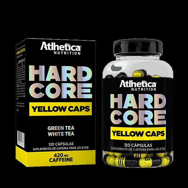 HardCore Yellow Caps 120comp 420mg Atlhetica