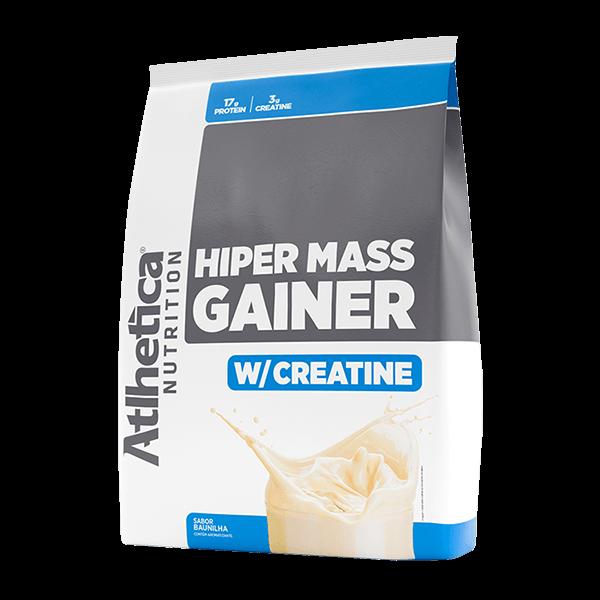 Hiper Mass Gainer 3kg Baunilha Atlhetica