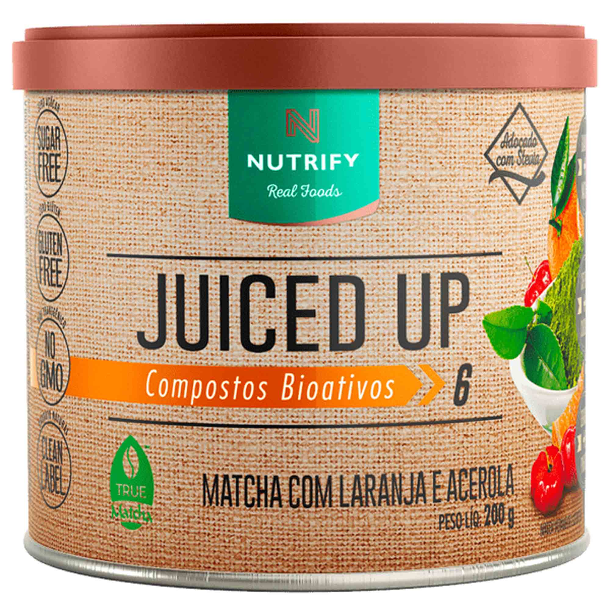 Juiced Up Laranja c/ Acerola 200g Nutrify