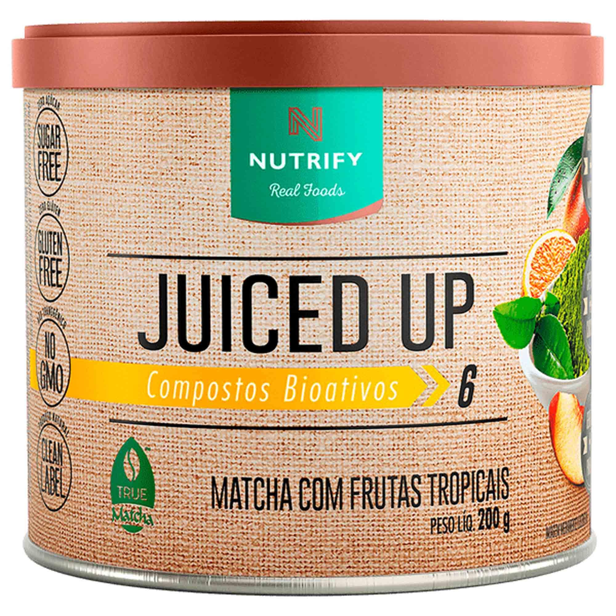 Juiced Up Matcha c/ frutas tropicais 200g Nutrify