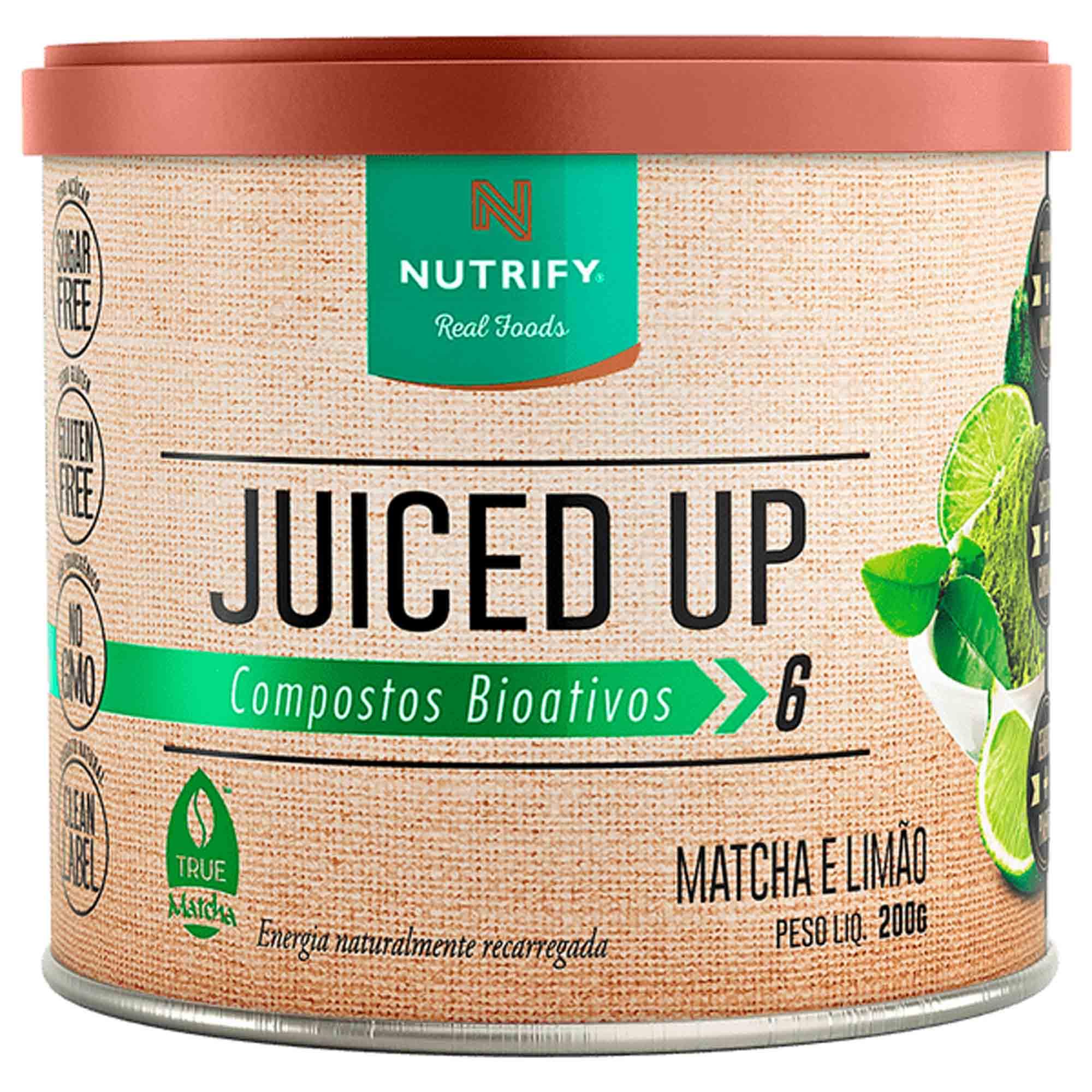 Juiced Up Matcha Limão 200g Nutrify