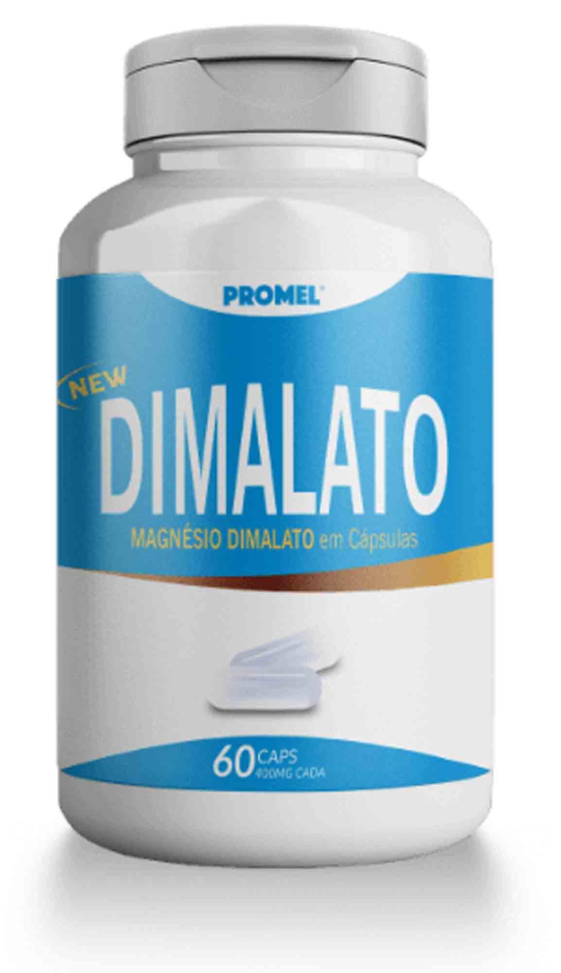 Magnésio Dimalato 60 Caps 400mg Promel