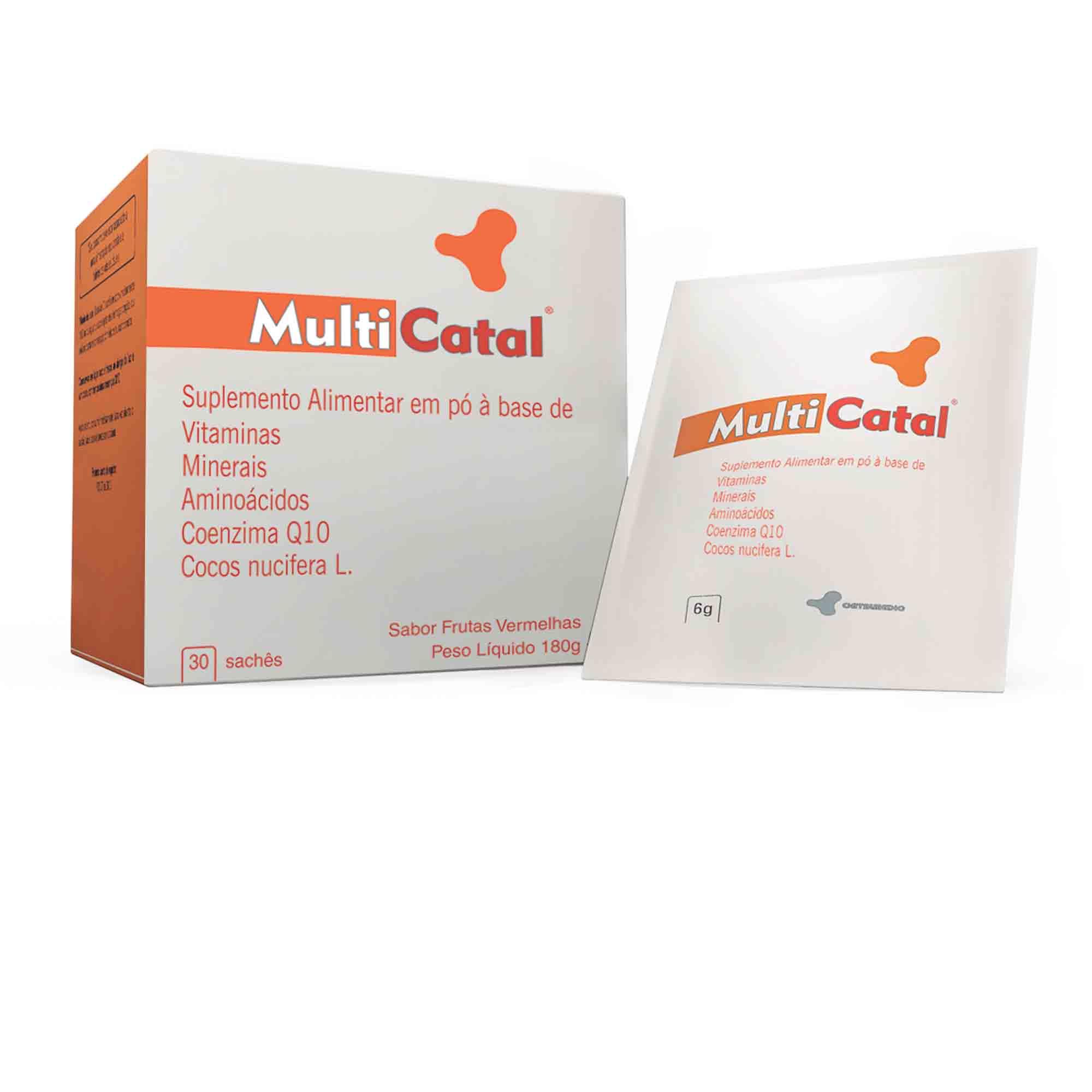 Multicatal 30 sachês 6g Catalmedic