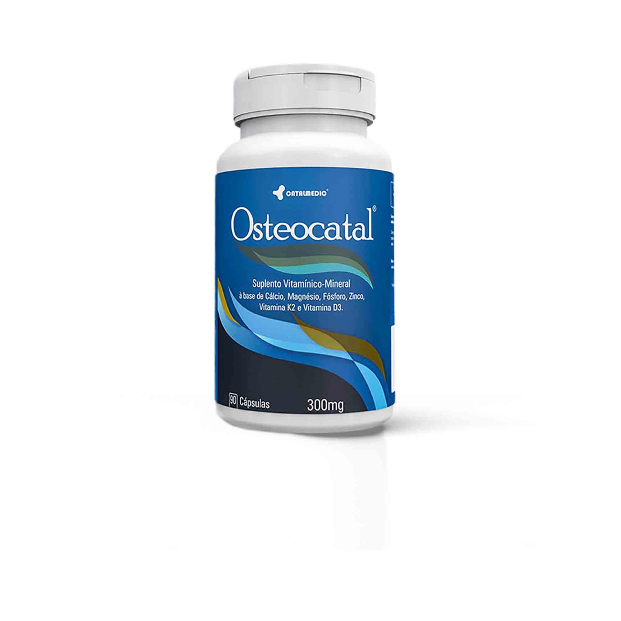 Osteocatal 90caps 300mg Catalmedic