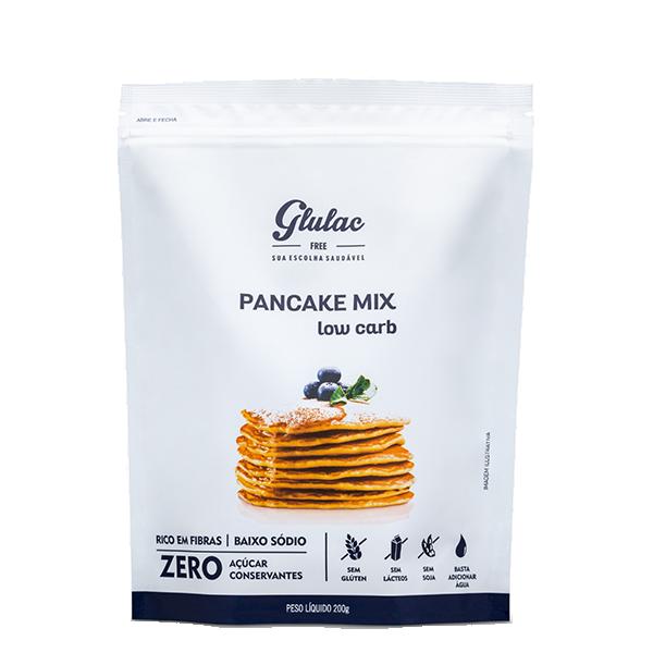 Pancake Mix Low Carb 200g Glulac