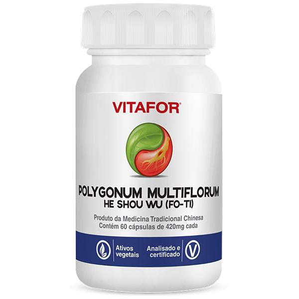 Polygonum Multiflorum (FO-TI) He Shou Wu 60 Caps MTC Vitafor