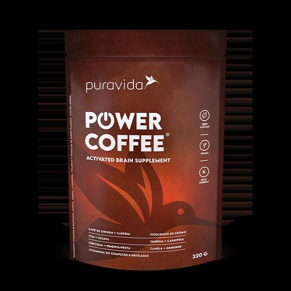 Power Coffee 220g Pura Vida