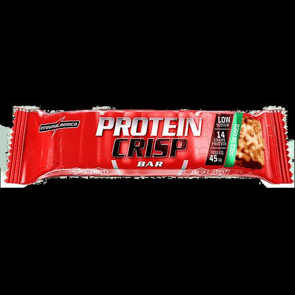 Protein Crisp Bar Doce de Coco 45g IntegralMedica